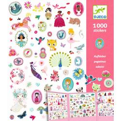 1000 Sticker Sammlung:...