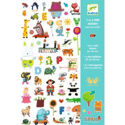 1000 Sticker Sammlung: für...