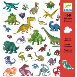 160 Dinosaurier Sticker von...