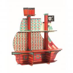 Regale Piratenschiff von Djeco