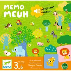 Klangspiel Memo Meuh von Djeco