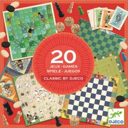 20 Spielesammlung von Djeco