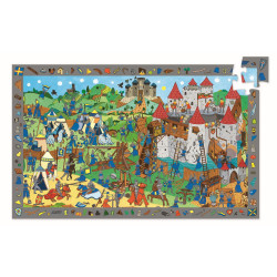 Wimmelpuzzle Ritter - 54...