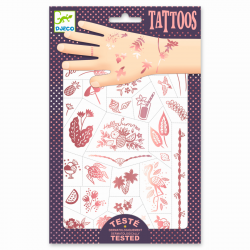 Tattoos Hello Summer von Djeco