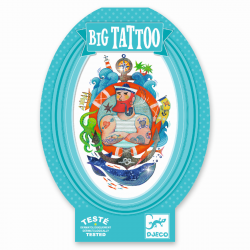 Big Tattoo Bizeps von Djeco