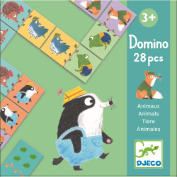 Domino Tiere von Djeco