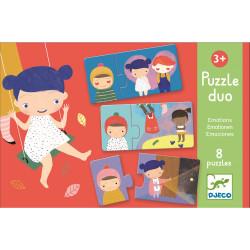 Duo Puzzle Emotionen von Djeco