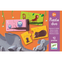 Duo Puzzle Mami & Kind von...