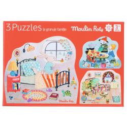 """3er Puzzle-Set """"La Grande..."""