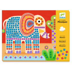 Mosaik - Elefant und...