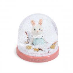 Kleine Schneekugel Katze...