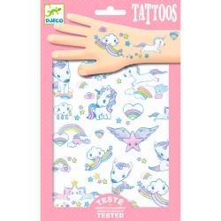Tattoos - Einhörner von Djeco