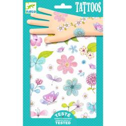 Tattoos - Feldblumen von Djeco