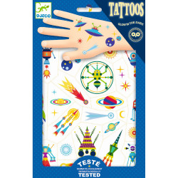 Tattoos - Weltraum von Djeco
