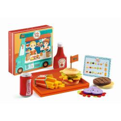 Kinderküche Burgershop...