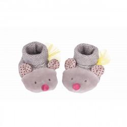 Babyschühchen graue Maus...