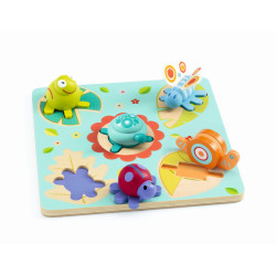 3D-Holzsteckpuzzle Lilo...