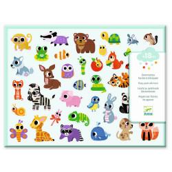 Sticker Baby Tiere von Djeco