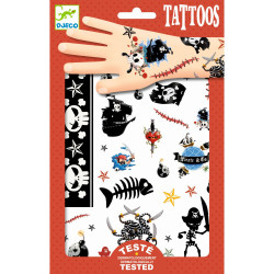 Tattoos Pirates von Djeco