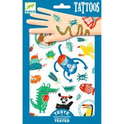 Tattoos Tiere von Djeco