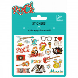 Mini Sticker Pop and rock...