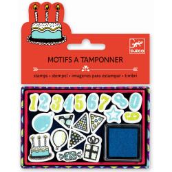 Ministempel Birthday von Djeco