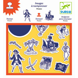 Stempel Piraten von Djeco
