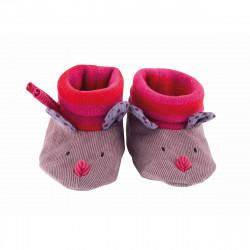 Babyschühchen Hase pink von...