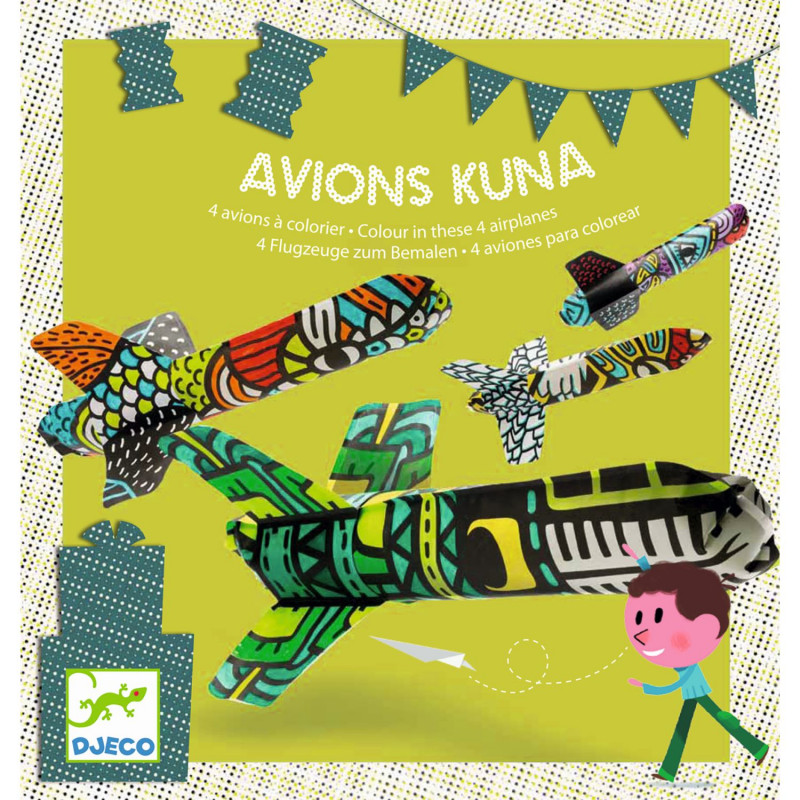 Geburtstagsspiel Kuna Plane Von Djeco