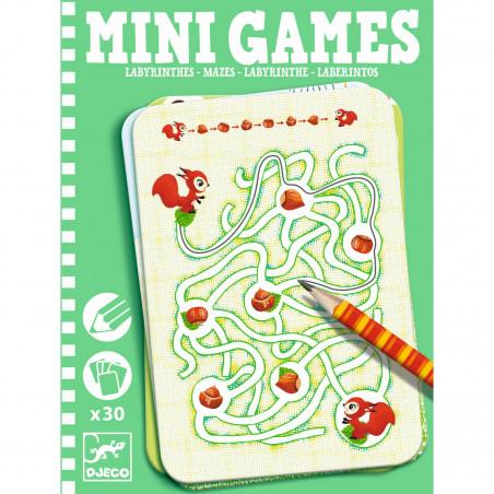 Mini Spiele: Labyrinth von Ariane von Djeco
