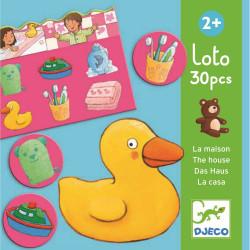 Lernspiele: Loto Das Haus...