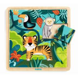 Holz Puzzle Dschungel von...