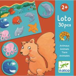 Lernspiele: Loto Tiere von...