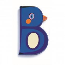 B - Tier Holzbuchstaben von...