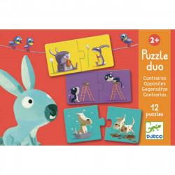 Duo Puzzle Gegenteile...