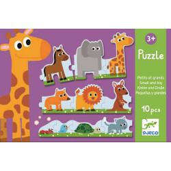 Duo Puzzle Von klein zu...